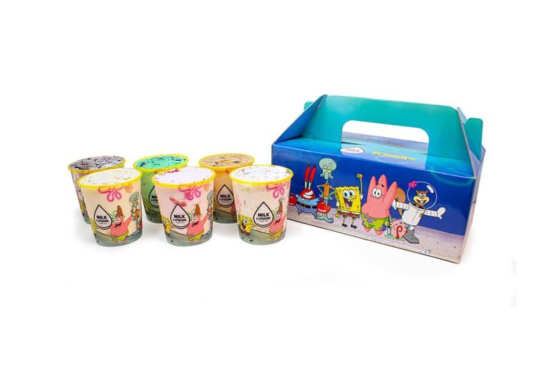 '스폰지밥' 게살버거를 그대로 본뜬 아이스크림 버거가 등장했다, 네모바지 스폰지밥, 집게리아, 밀크 앤 크림 시리얼 바