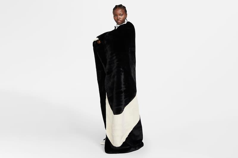 나이키, 온몸을 뒤덮을 수 있는 커다란 '스우시' 담요 출시, 무릎담요, 어깨담요, 보온용, 코타츠, 고타츠, 인테리어 용품, 러그