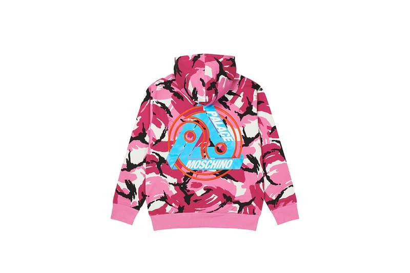 팔라스 x 모스키노, 협업 컬렉션 룩북 및 발매 정보 공개, 제레미 스콧, 셔링 재킷, 후디, 트라이퍼그 로고