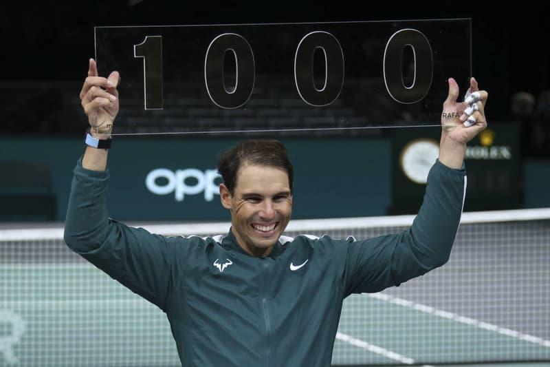 라파엘 나달, 남자 프로 테니스 역사상 네 번째 '개인 통산 1000승' 달성, 로저 페더러, ATP 투어