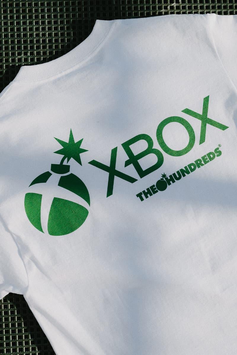 더 헌드레즈 x 엑스박스 협업 의류 컬렉션 및 한정판 컨트롤러 공개, 엑스박스 시리즈 X, 후디, 티셔츠, 스냅백
