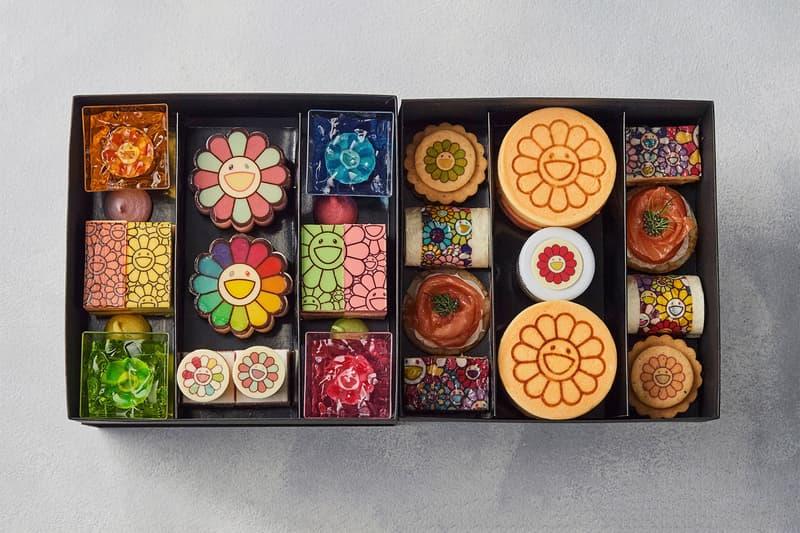 무라카미 다카시의 꽃을 수놓은, 테이크아웃 전용 애프터눈 티세트가 출시된다, 카이카이 키키
