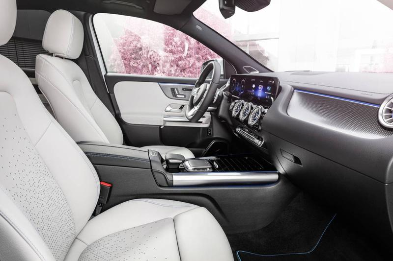 메르세데스-벤츠의 새로운 전기 SUV, '더 뉴 EQA' 공개, GLA, 전기차