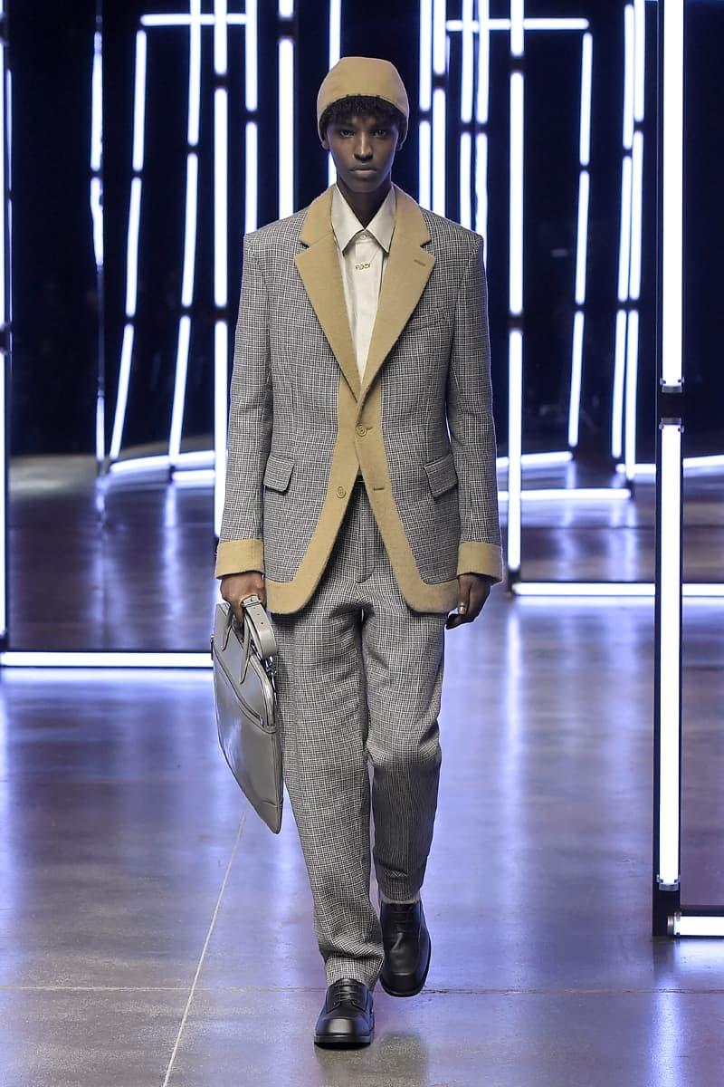 펜디, 2021 가을, 겨울 컬렉션 런웨이 이미지 공개, 밀라노 패션위크, 백스테이지