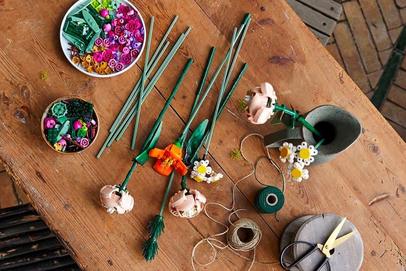 장미부터 데이지까지, 시들지 않는 레고 '꽃다발' 키트 출시, 금어초, 양귀비, 과꽃