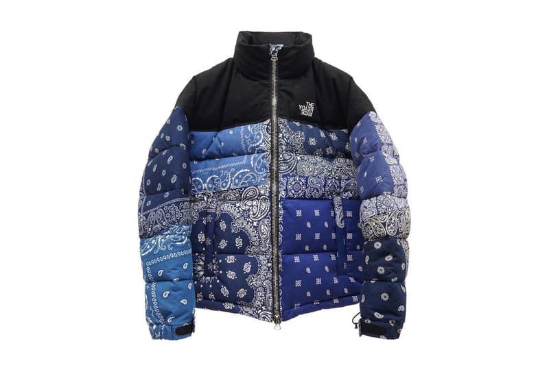 레디메이드, 노스페이스를 연상케 하는 반다나 다운 재킷 & 마운틴 파카 출시, 페이즐리 패턴, 리메이크, GR8, 일본 편집숍, 그레이트
