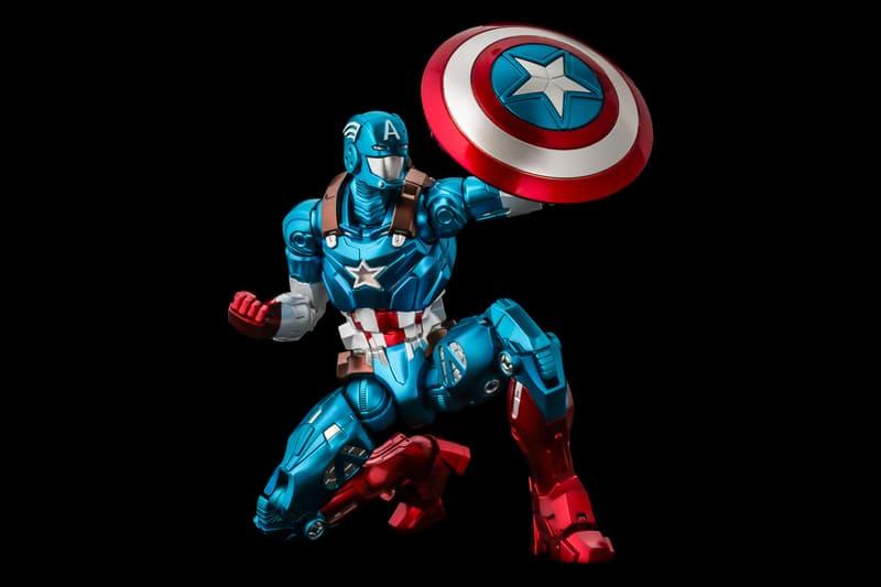 캡틴 아메리카 + 아이언맨, 아이언 슈트 버전 캡틴 아메리카 피규어 출시, 파이팅 아머, 마블, MCU, 어벤져스