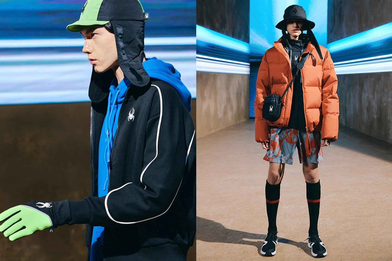 스파이더 2021년 가을, 겨울 컬렉션 공개, 스포츠, 팬데믹, 코로나19, 밀란, 패션위크