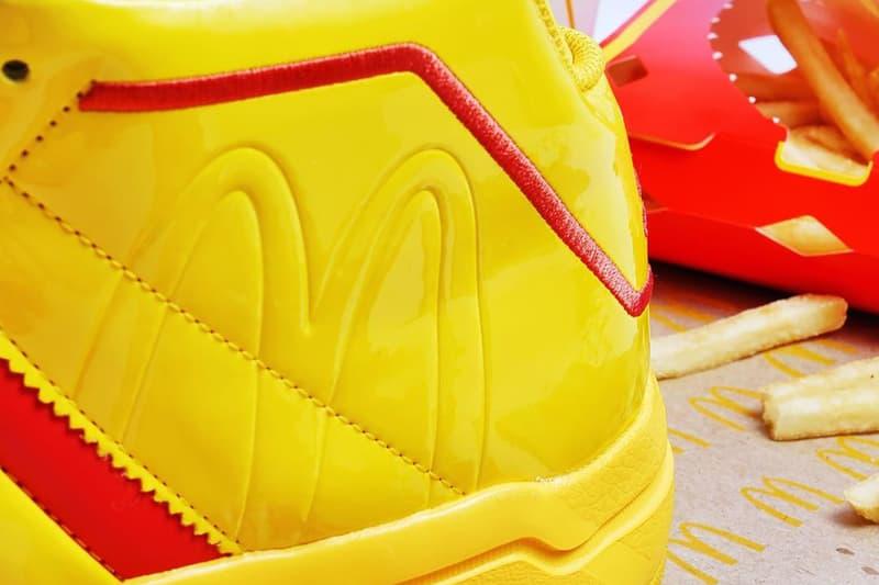 아디다스, 맥도날드 로고를 두른 프로 모델 2G '맥도날드 올아메리칸 게임' 공개, 농구화, 스니커, 상세 이미지