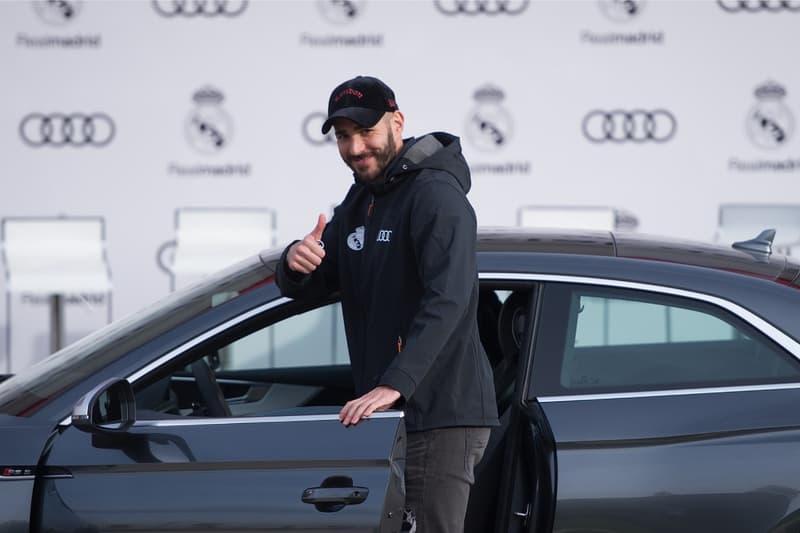 아우디가 레알 마드리드 1군 선수 전원에게 차 1대씩을 선물했다, 지네딘 지단, 카림 벤제마, 페데리코 발베르데, 카세미루