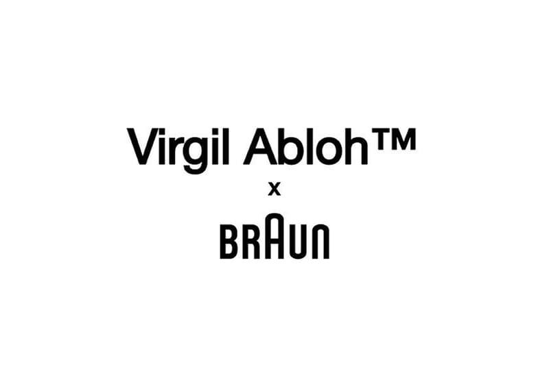 버질 아블로와 브라운의 협업 제품이 곧 출시된다, 전기 면도기, 시계, 손목 시계, 오프 화이트