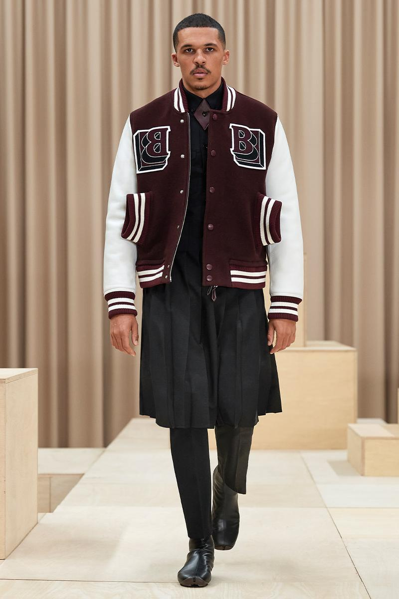 리카르도 티시의 첫 번째 버버리 남성복, 2021 FW '익스케이프' 컬렉션 공개, 멘즈웨어, 바시티 재킷, 트렌치코트