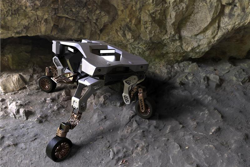 현대차, 다리 달린 변신형 이동 로봇 '타이거' 최초 공개, 지능형 모빌리티, 무인 모빌리티