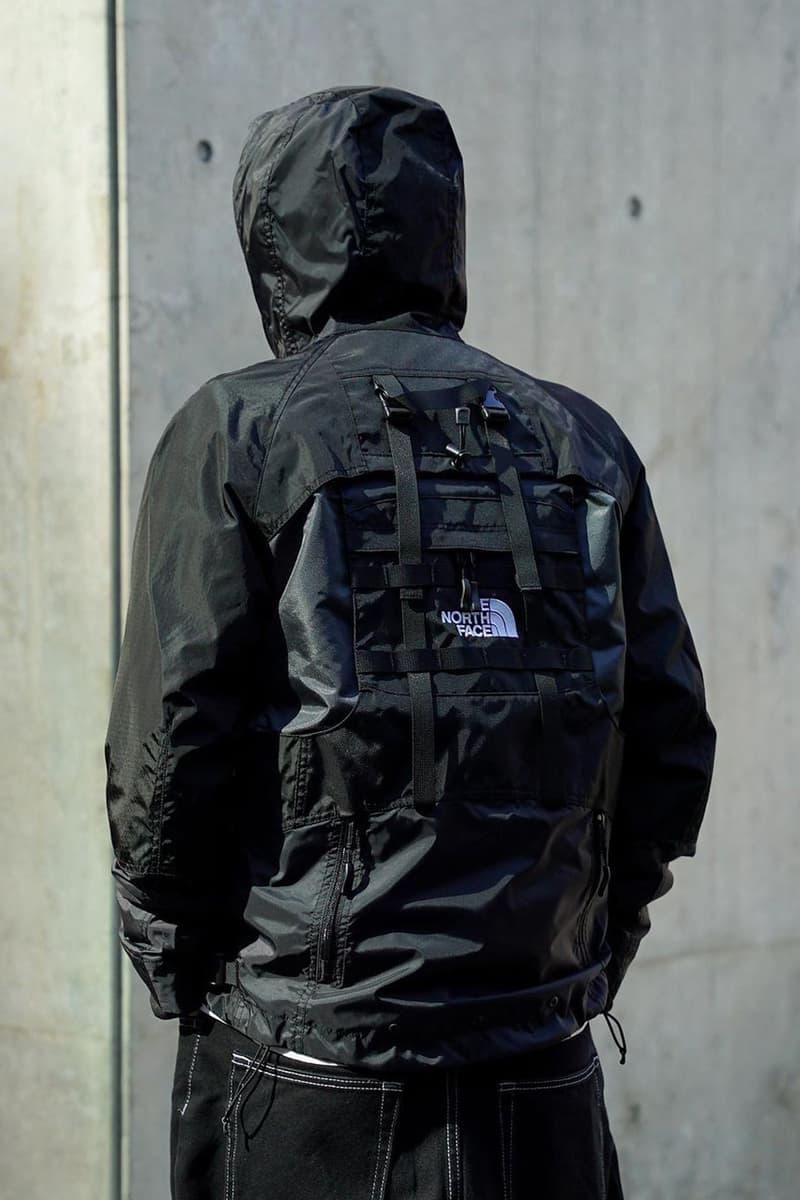 준야 와타나베 x 노스페이스, 백팩이 결합된 재킷 출시한다, 노페, 가방