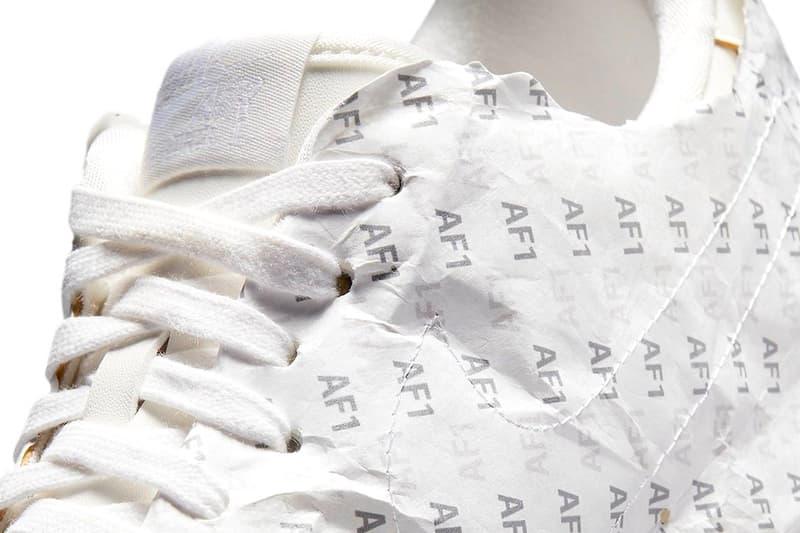 나이키, 포장지를 뜯지 않고 신을 수 있는 새로운 에어 포스 1 로우 공개, 에어포스1, 빈티지 포스, 나이키 신발, 킵 음 프레시, keep 'em fresh