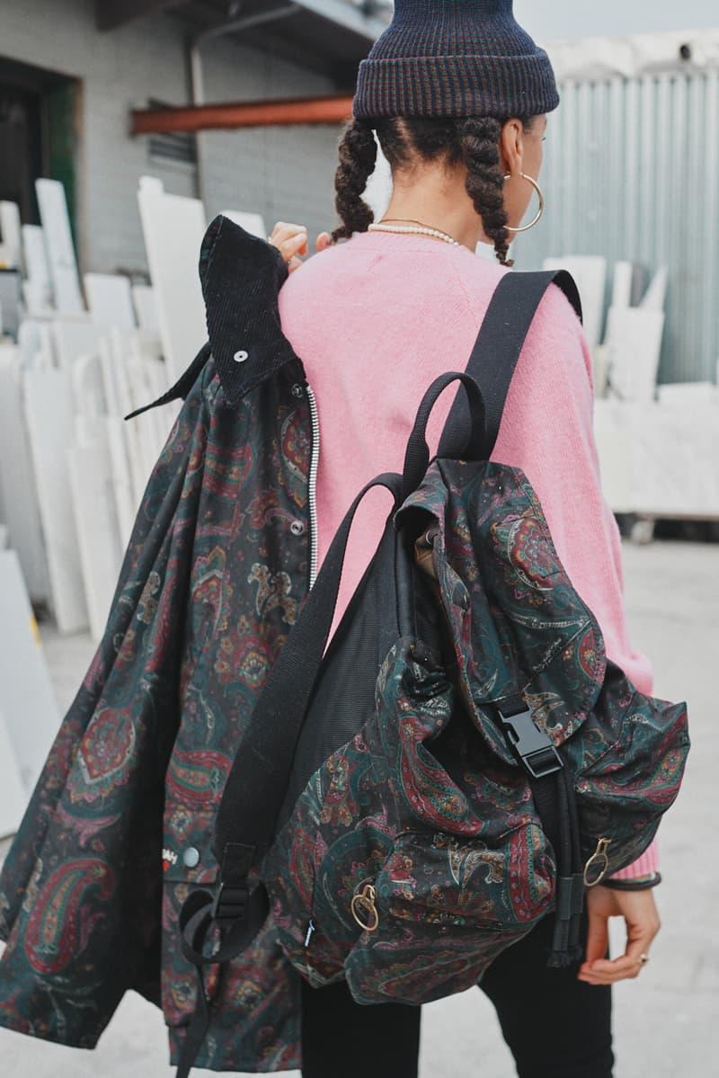 노아 x 바버, 페이즐리 & 지브라 패턴 휘감은 2021 SS 협업 컬렉션 출시, 왁스 재킷