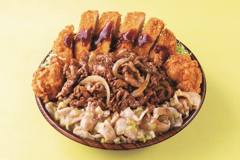 도합 1만2천 칼로리의 '도시락'이 출시됐다, 키친 오리진, 푸드 파이터, 카츠동, 새우튀김, 가라야게, 고로케, 티비 도쿄