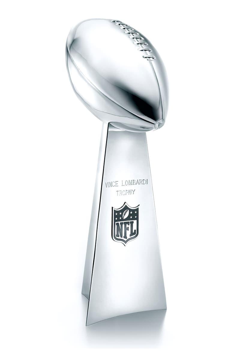 티파니앤코의 NFL '슈퍼볼' 우승 트로피는 어떻게 만들어질까?, 더 위켄드, 빈스 롬바르디, 톰 브래디