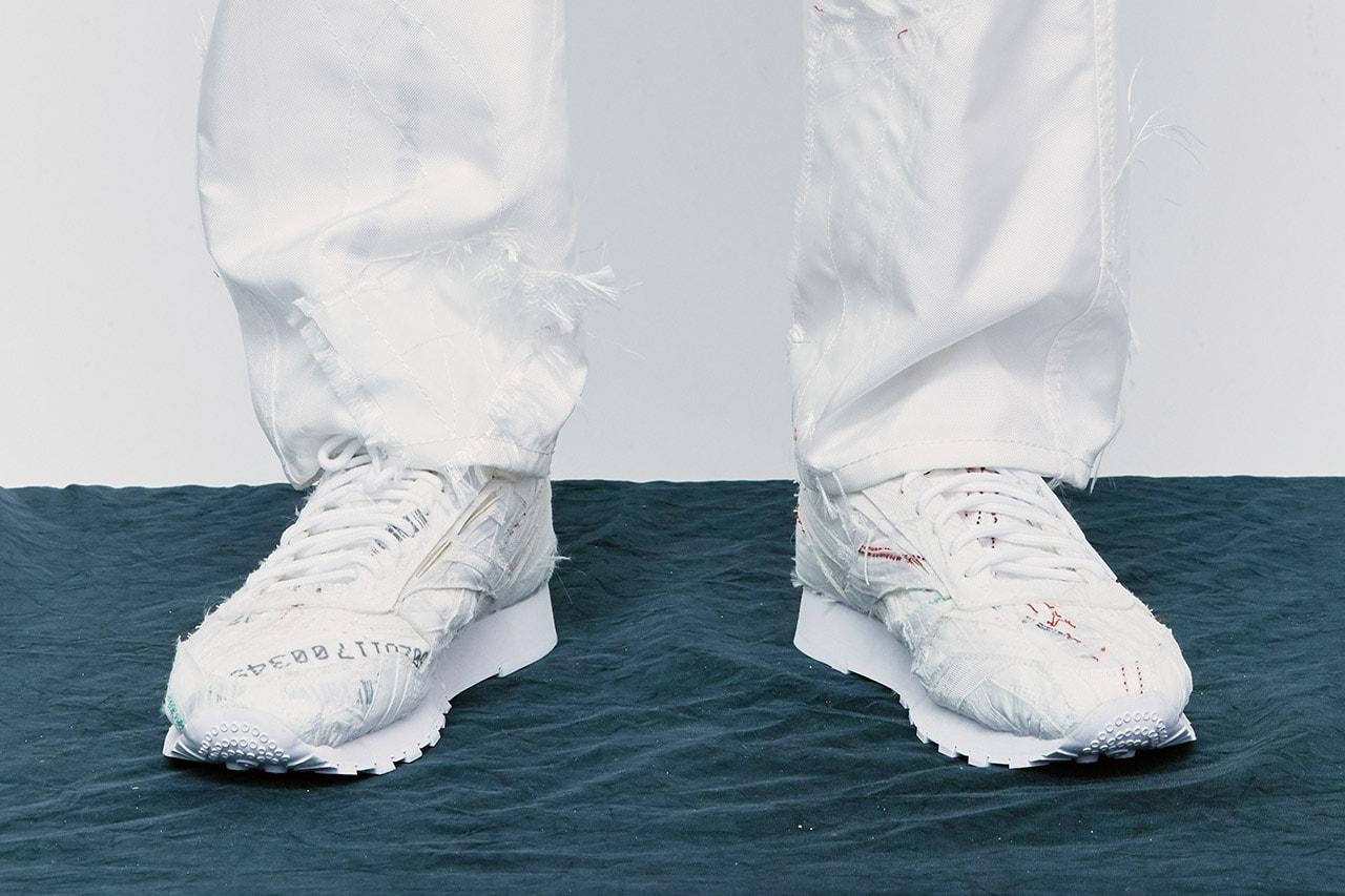 강혁, 새로운 리복 협업 스니커 포함된 '컬렉션 10' 룩북 공개, 에어백 원단, 최강혁, 손상락 디자이너