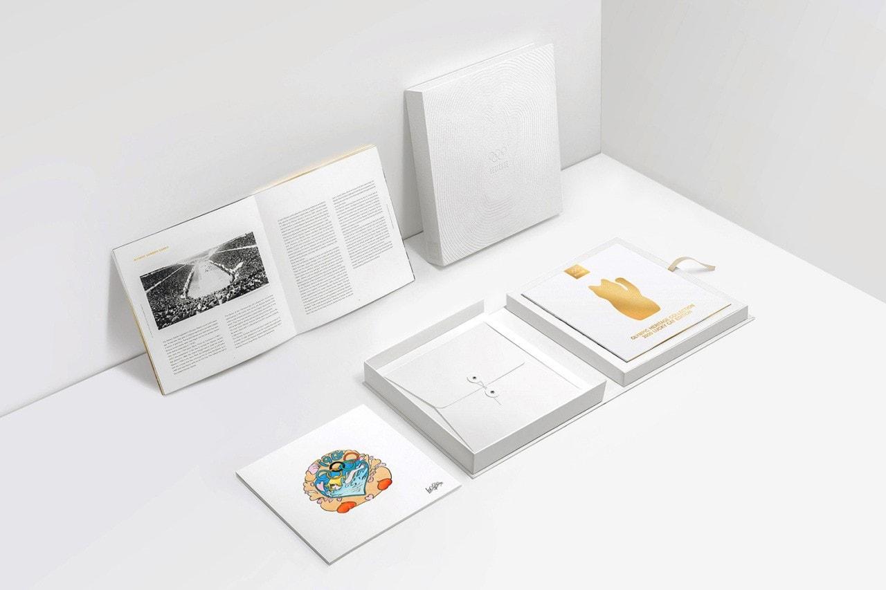 최상위 등급 공식 올림픽 굿즈, 올림픽 헤리티지 컬렉션 '2020 럭키캣 에디션'