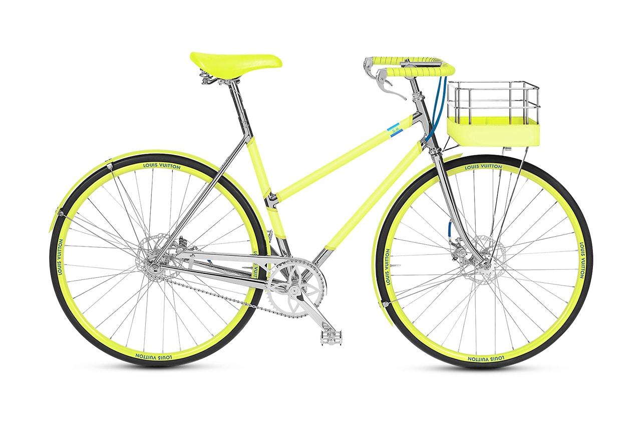 루이 비통, 모노그램으로 장식한 3천만 원대 'LV 자전거' 출시, 메종 땅보이트 파리