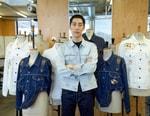 리바이스, 한국인 디자이너 김준태와 협업 선보이다
