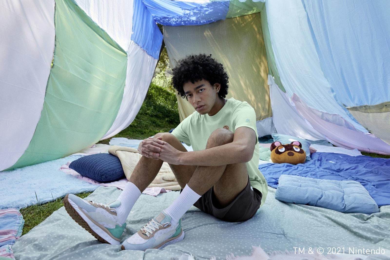 푸마, '동물의 숲™' 협업 컬렉션 공개 puma animal crossing collaboration