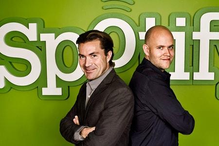 Daniel Ek & Martin Loretzon