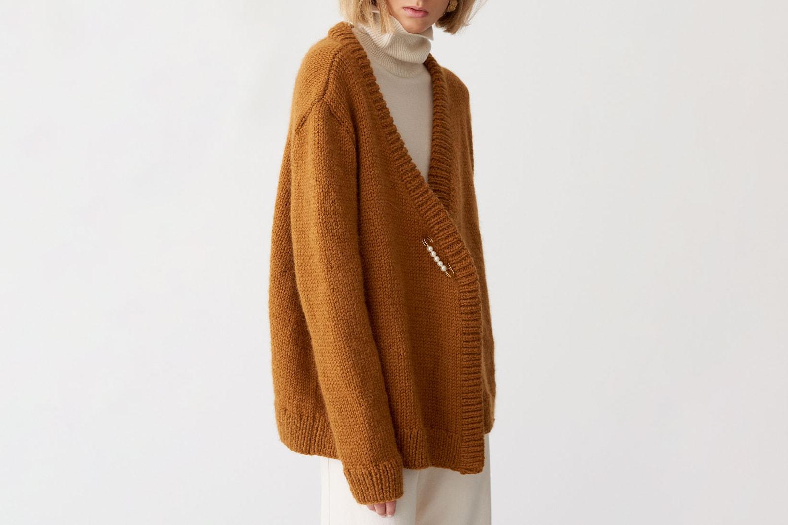 Glamorous Sweater Fashion Ads : Barrie Knitwear Fall 2014