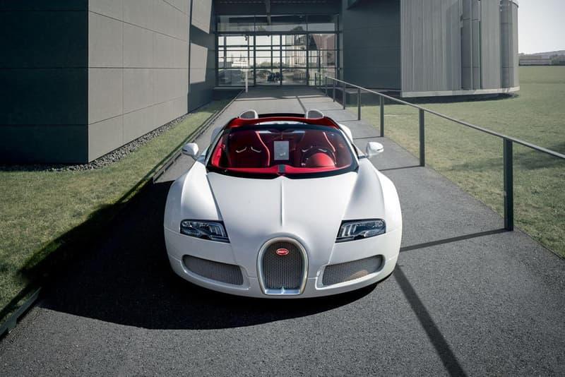 Bugatti Veyron Grand Sport Wei Long | HYPEBEAST