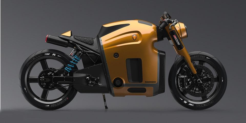 Koenigsegg Motorcycle Concept by Burov Art | Concept