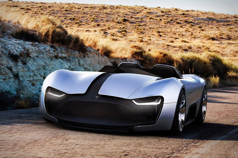 New Tesla Roadster 2019 Design Concept Revealed | HYPEBEAST