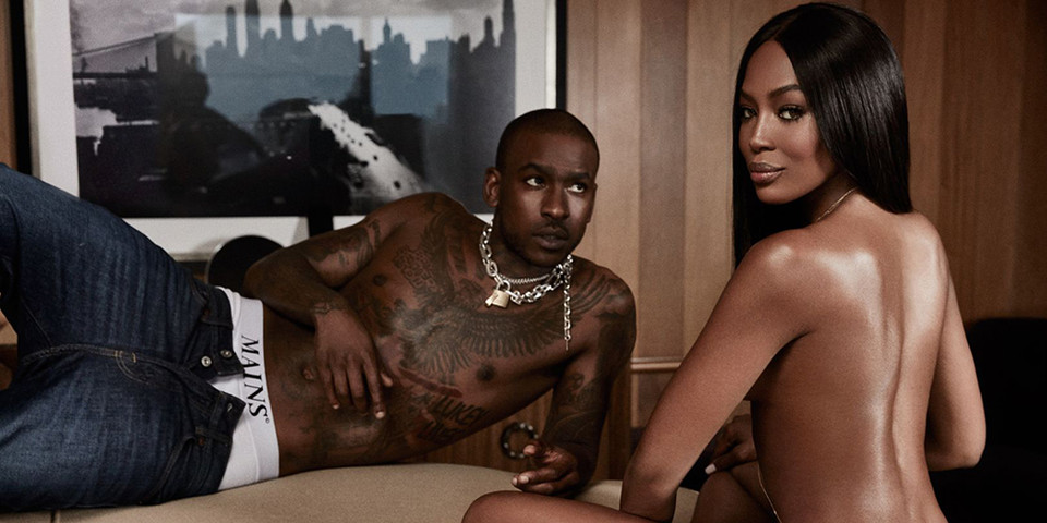 Naomi Campbell and Skepta create fire on the cover of GQ