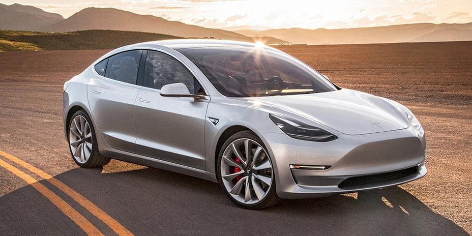 Tesla Offering Immediate Delivery of Model 3's | HYPEBEAST