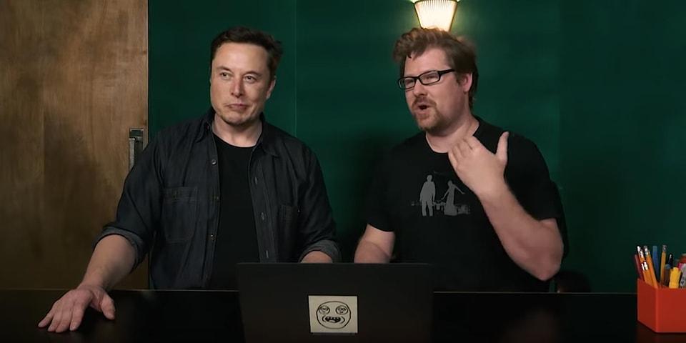 Elon Musk Justin Roiland Pewdiepie Meme Review Video ...