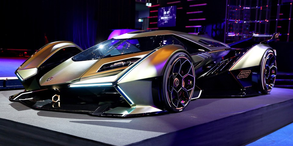 Gran Turismo x Lamborghini Vision GT Unveil   HYPEBEAST