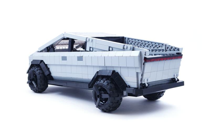 LEGO IDEAS Tesla Cybertruck Fan Project Info | HYPEBEAST