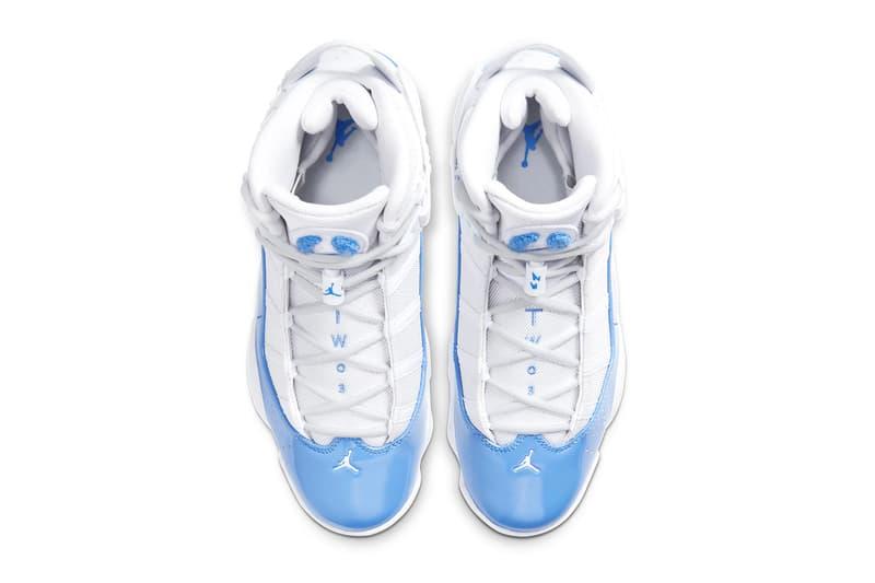 "Jordan 6 Rings ""UNC"" Release | HYPEBEAST"