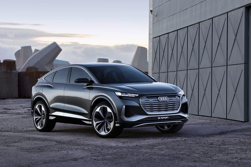 Audi Q4 Sportback E-Tron Concept Revealed   HYPEBEAST