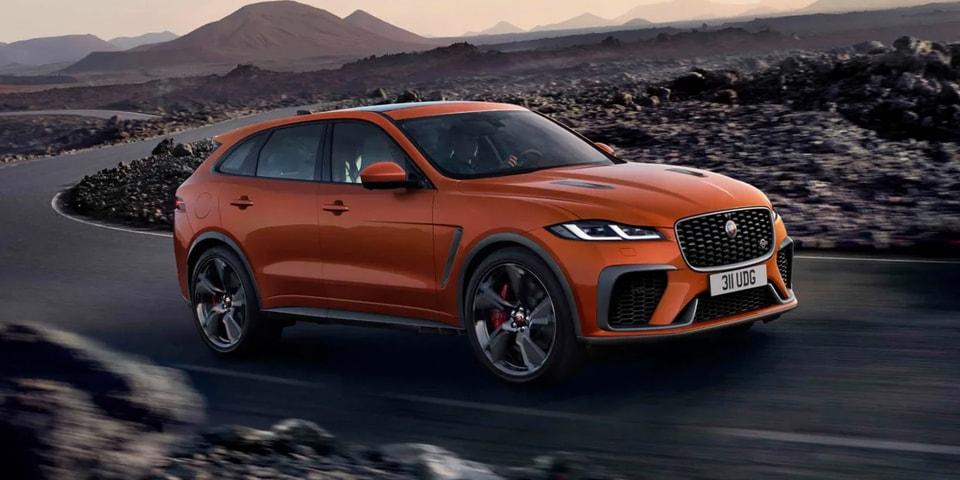 2021 jaguar f-pace svr performance suv release info