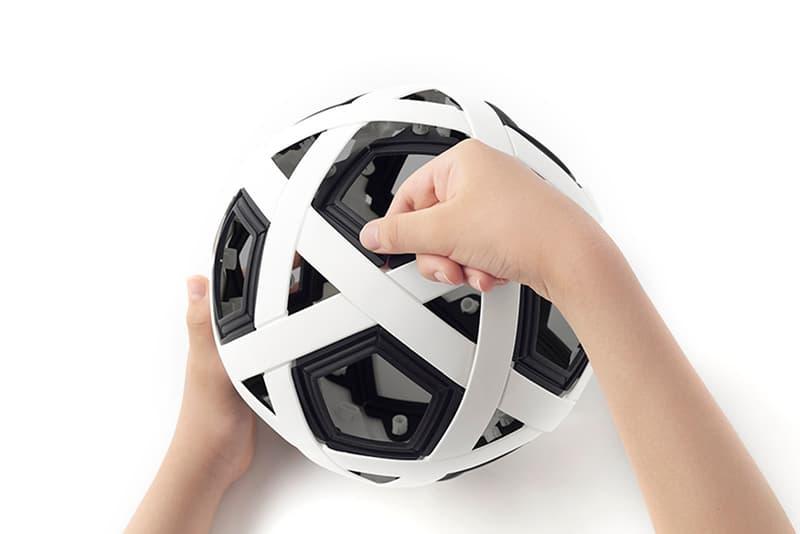 Nendo's My Football Kit Includes Modular Soccer Ball ...