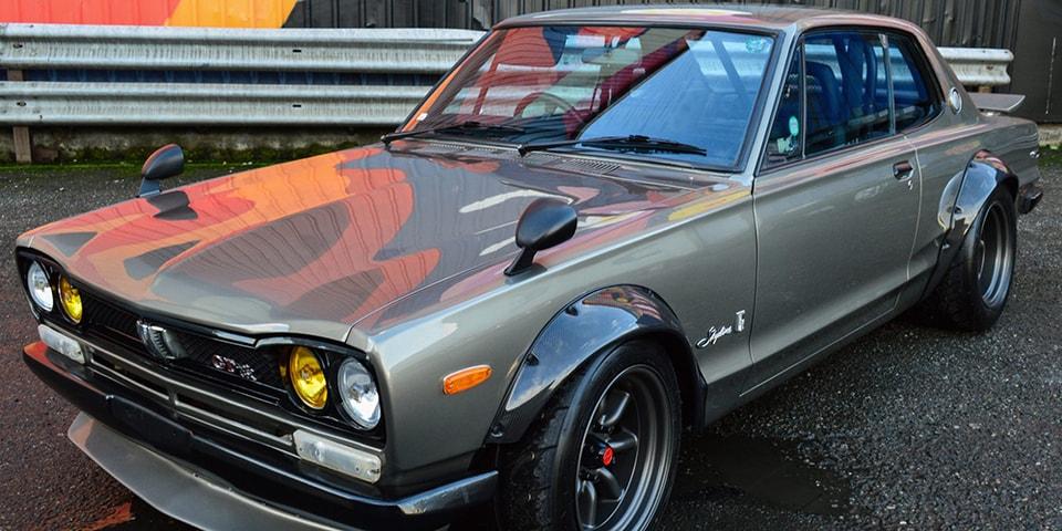 Tuned 1972 Nissan Skyline KGC10 2000GT GT-R Auction ...  1972 Nissan Skyline Jdm