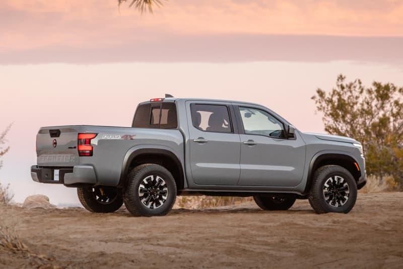 nissan 2022 frontier pickup truck release info | hypebeast