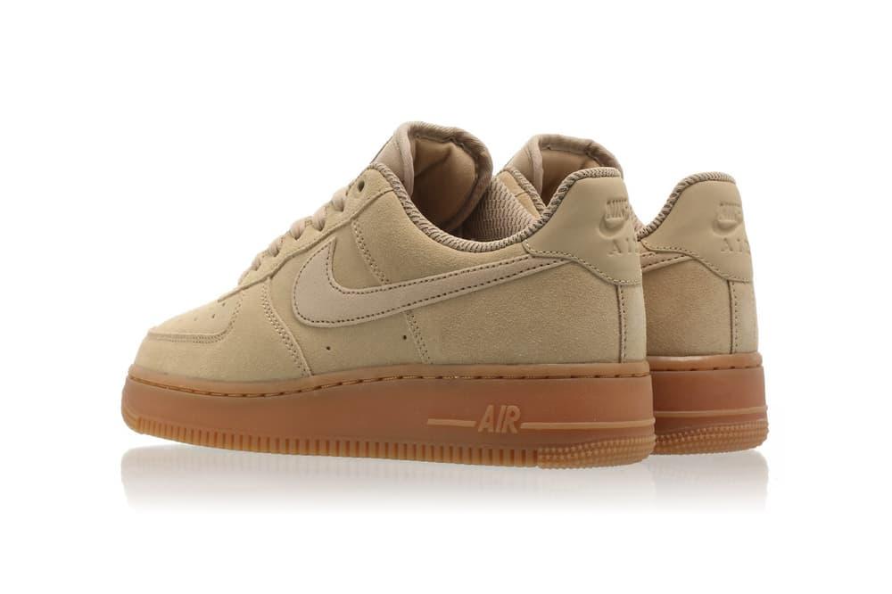 Nike Air Force 1 07 LX in White/Bio Beige/Gold | HYPEBAE
