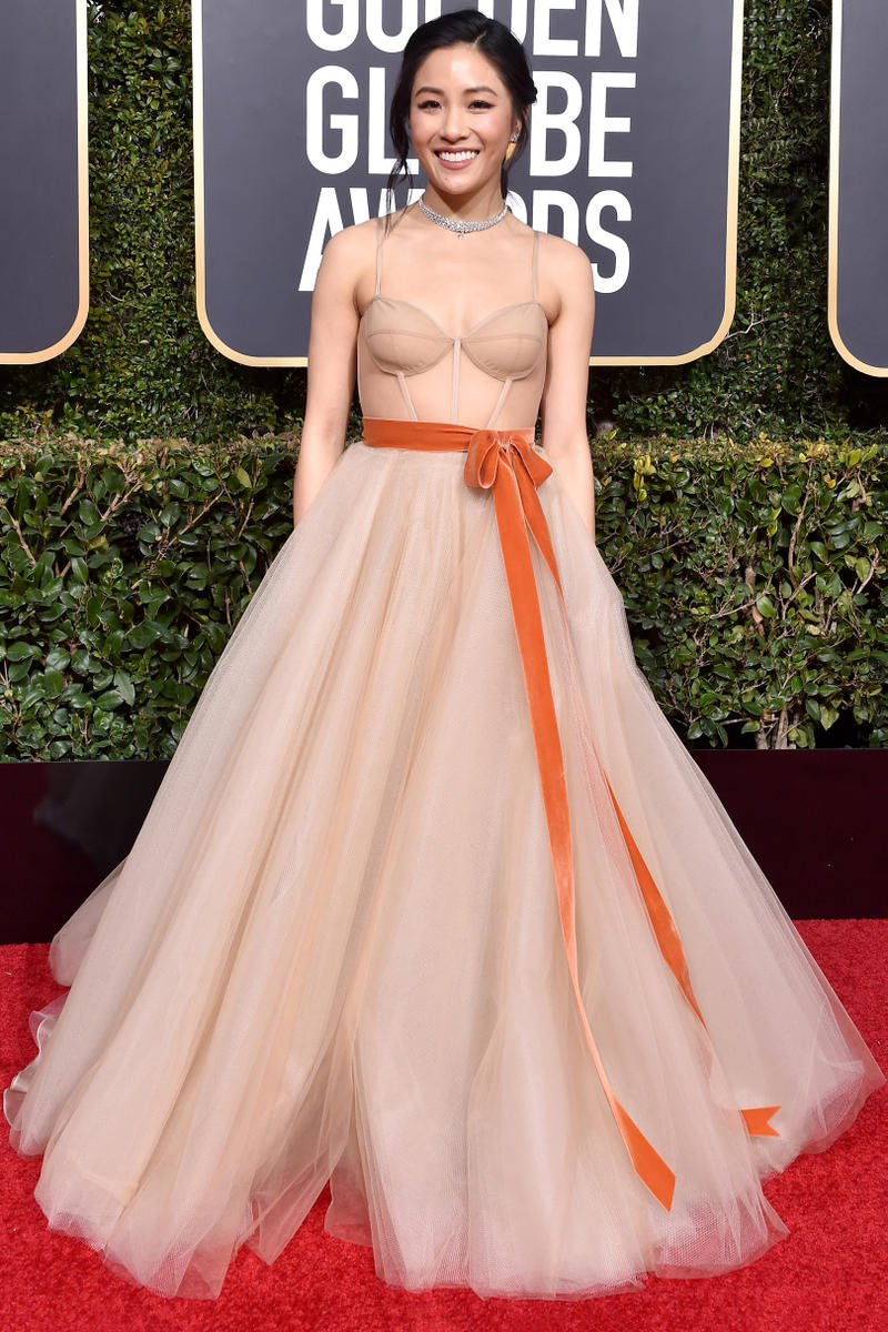 Constance Wu Is Crazy-Rich in Style on the Golden Globes