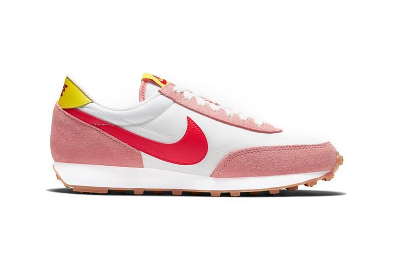"Shop Nike Daybreak in ""Coral Standust/Orange""   HYPEBAE"
