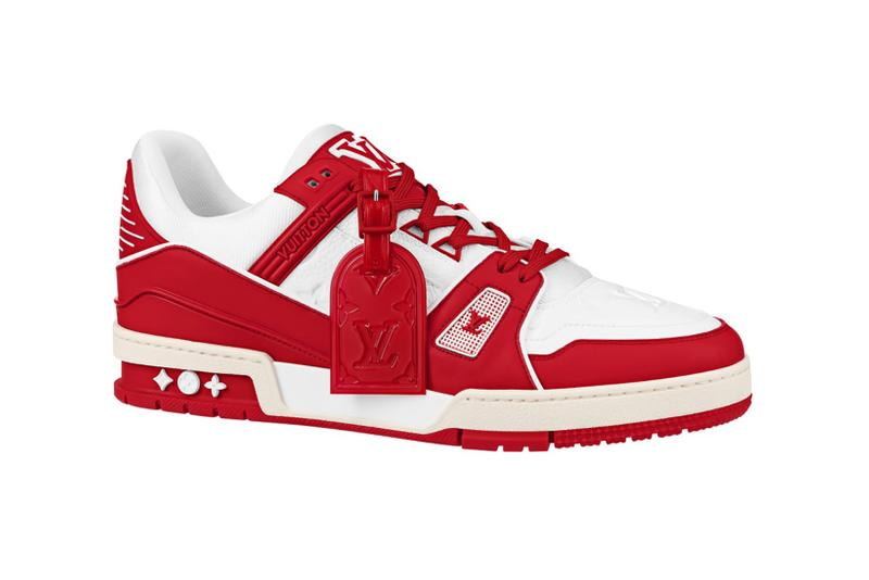 (RED) x Louis Vuitton World AIDS Day Sneakers | HYPEBAE