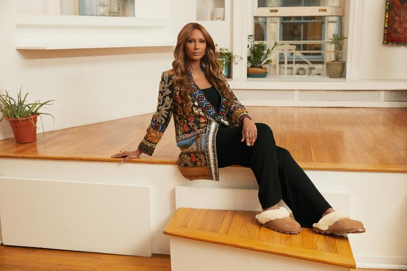 UGG Features Iman in SS21 Campaign   HYPEBAE